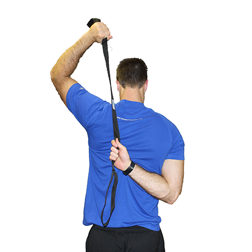 Rotator Cuff Stretching with Athletic Stretching Strap