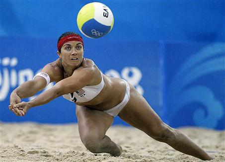 Volleyball Digging