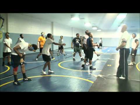 Wrestling Training Using Myosource Kinetic Bands